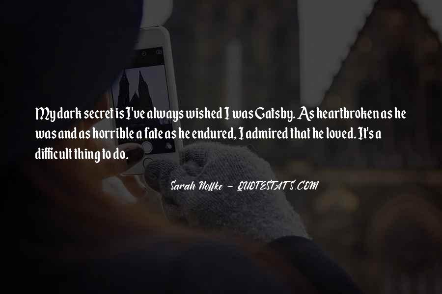 Quotes About My Secret Love #1561991
