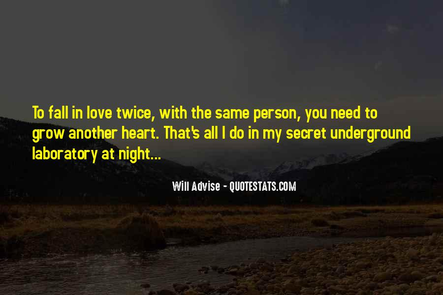 Quotes About My Secret Love #374560