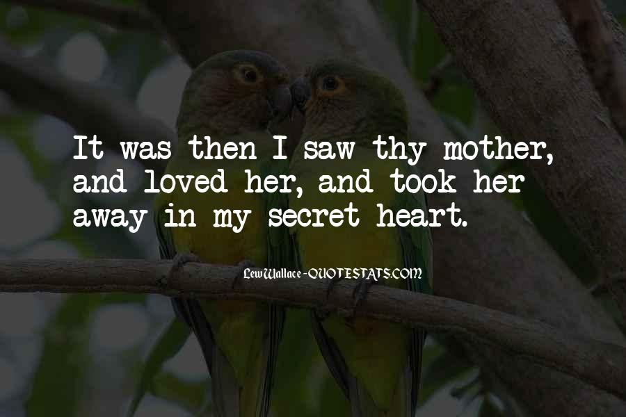 Quotes About My Secret Love #400815