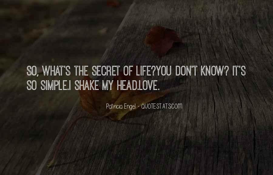 Quotes About My Secret Love #748745