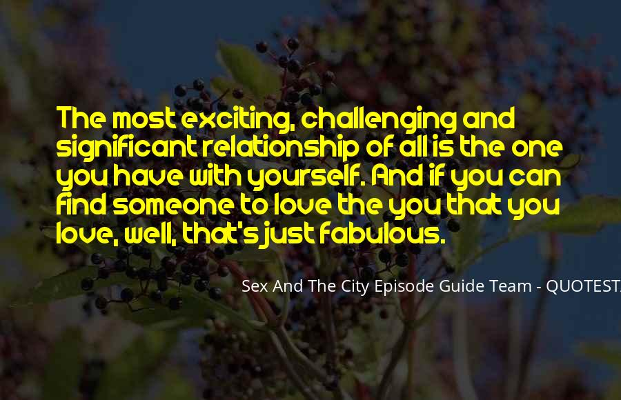 Quotes About Challenging Love #1727701