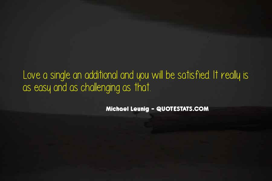 Quotes About Challenging Love #262667