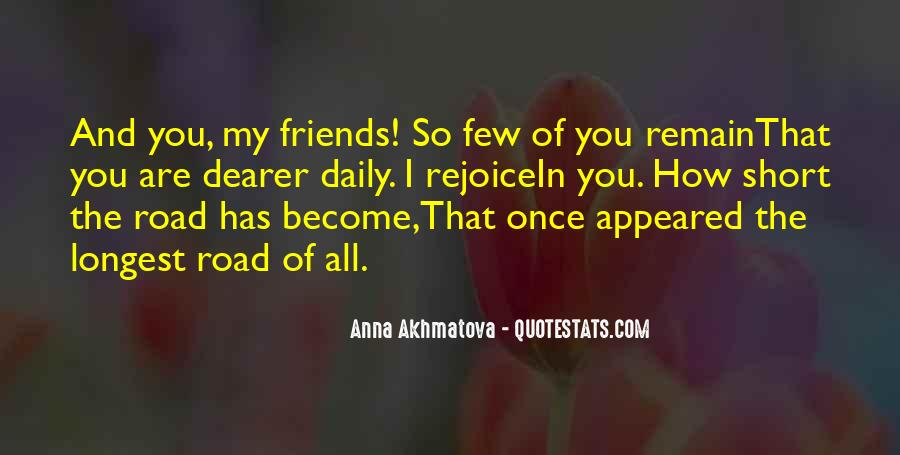 Quotes About Few Friends #166881