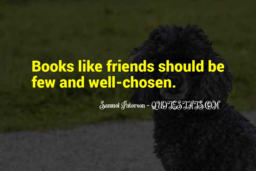 Quotes About Few Friends #186815