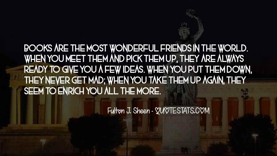 Quotes About Few Friends #419220