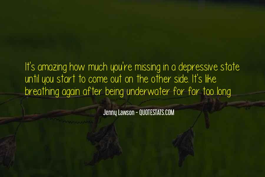 Quotes About Being Underwater #472436