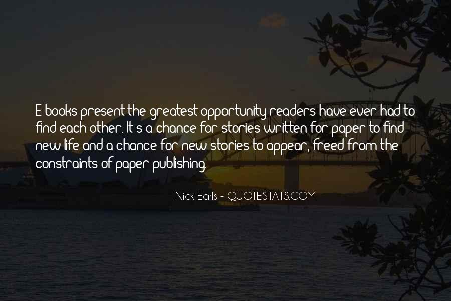 Quotes About New Books #415325