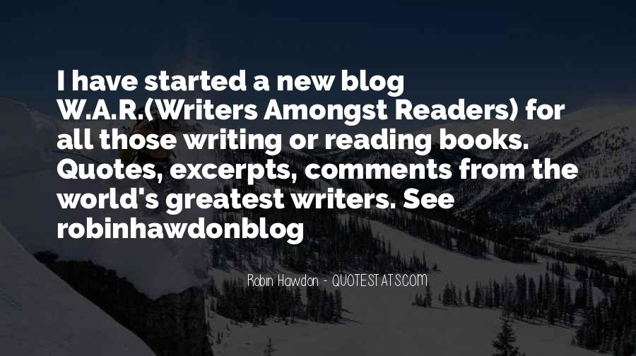 Quotes About New Books #415877