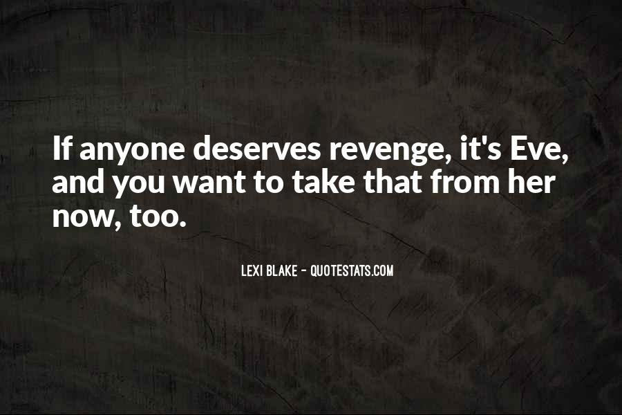 Quotes About Revenge From Revenge #1108903