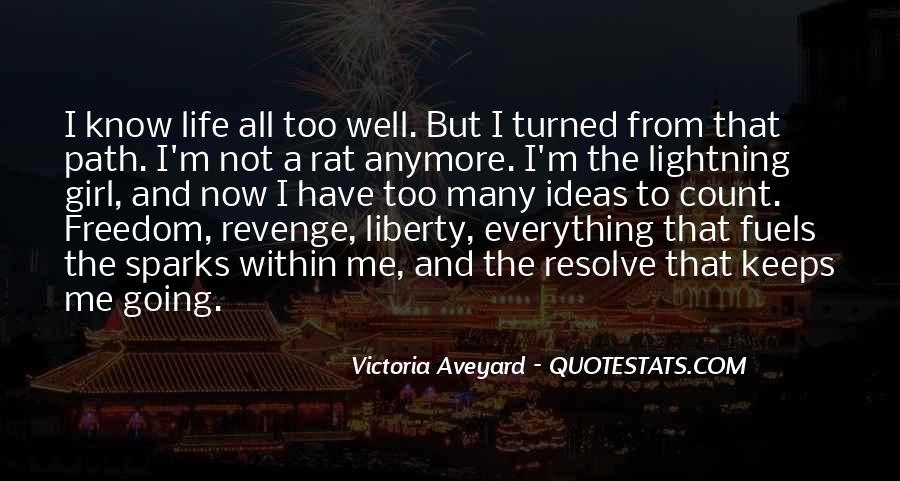 Quotes About Revenge From Revenge #1191651