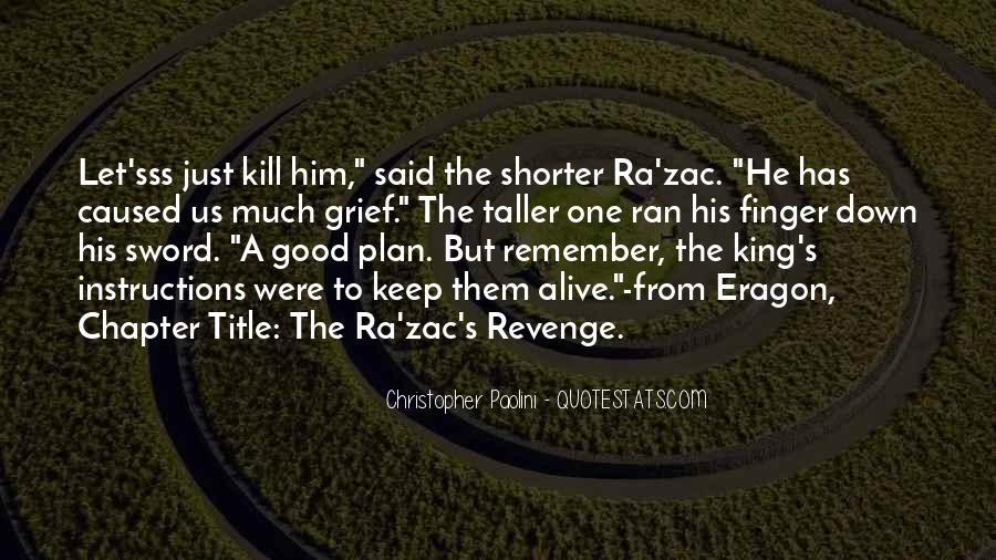 Quotes About Revenge From Revenge #1207165