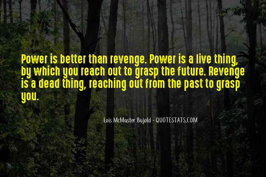 Quotes About Revenge From Revenge #1207606