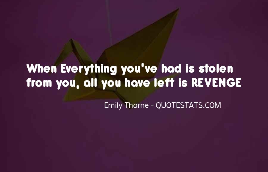 Quotes About Revenge From Revenge #1212681