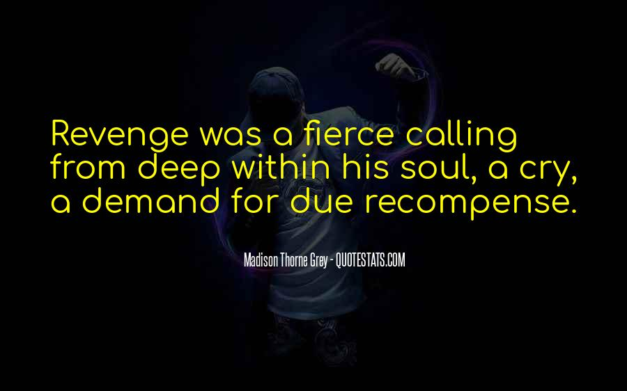 Quotes About Revenge From Revenge #1257298