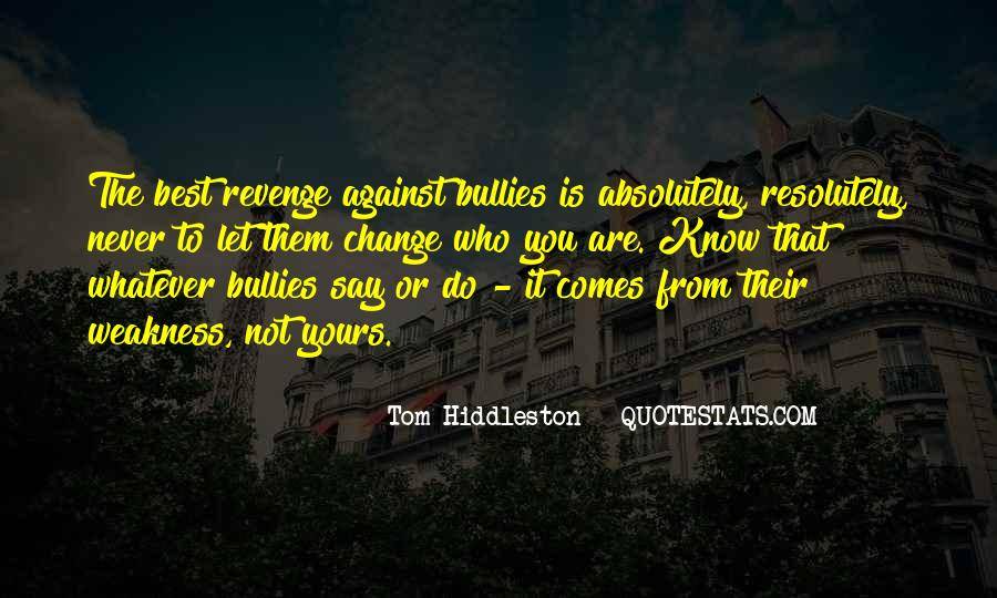 Quotes About Revenge From Revenge #1414238