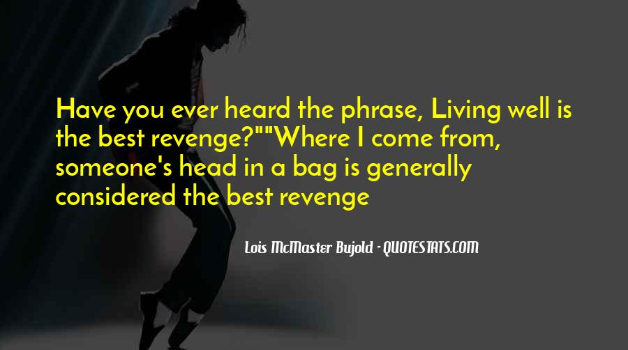 Quotes About Revenge From Revenge #1468556