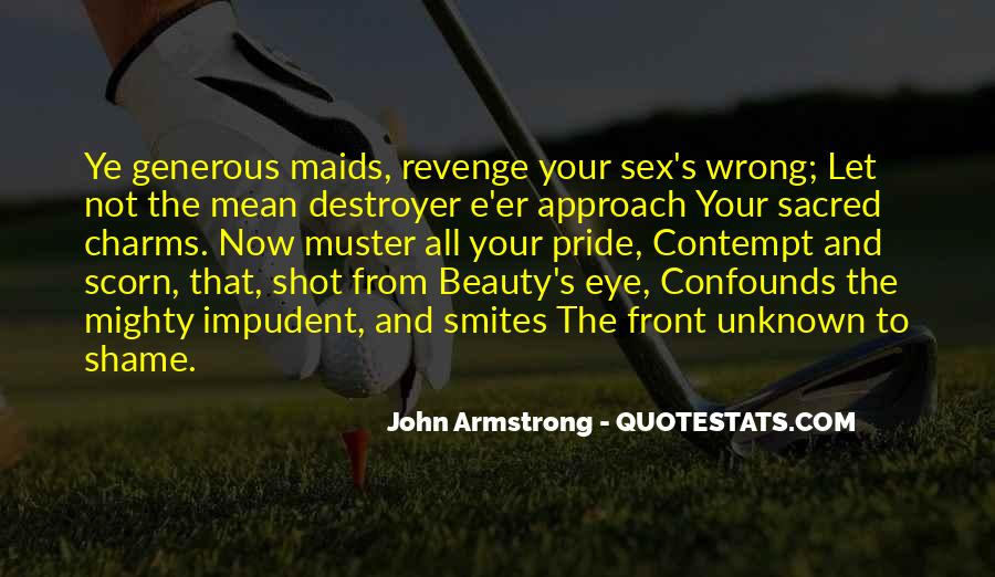 Quotes About Revenge From Revenge #1513964