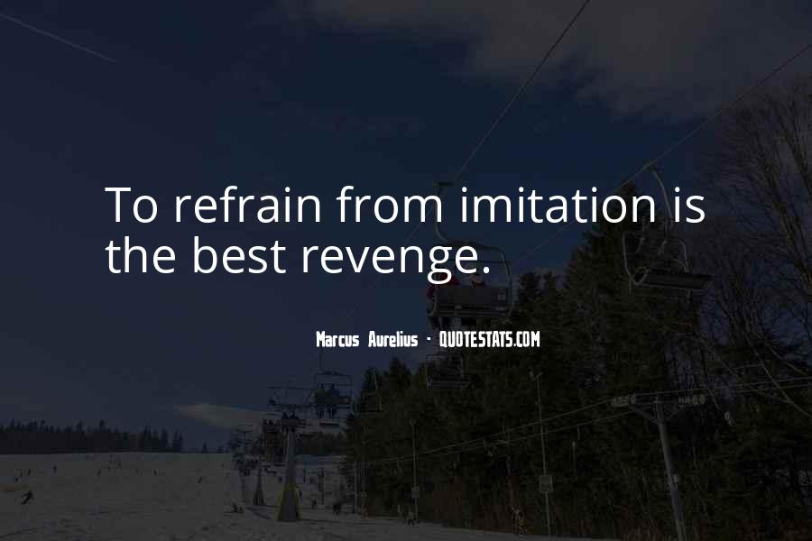 Quotes About Revenge From Revenge #1640827