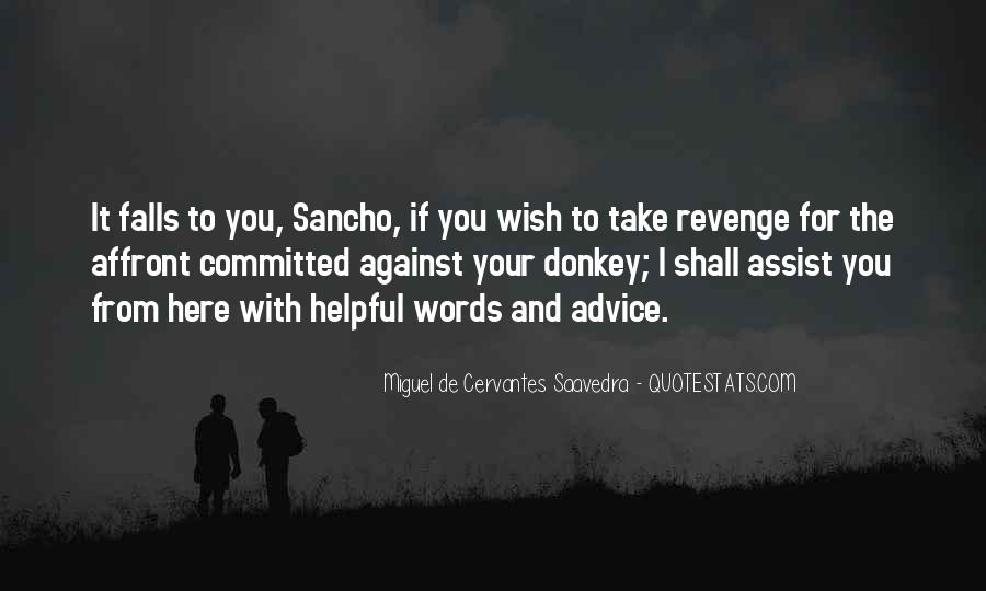 Quotes About Revenge From Revenge #1670705