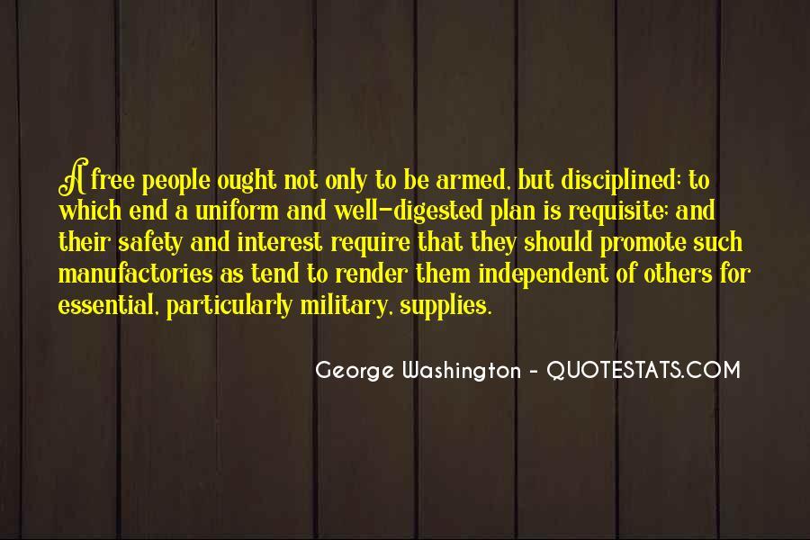 Quotes About Guns George Washington #1237541