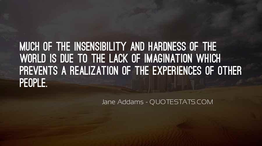 Quotes About Insensibility #161319