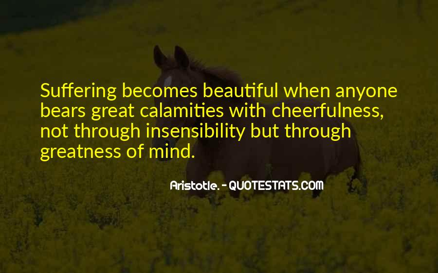 Quotes About Insensibility #1652116
