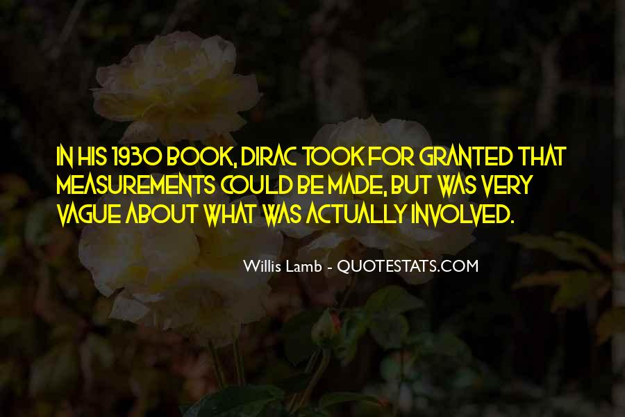 Quotes About Dirac #104674