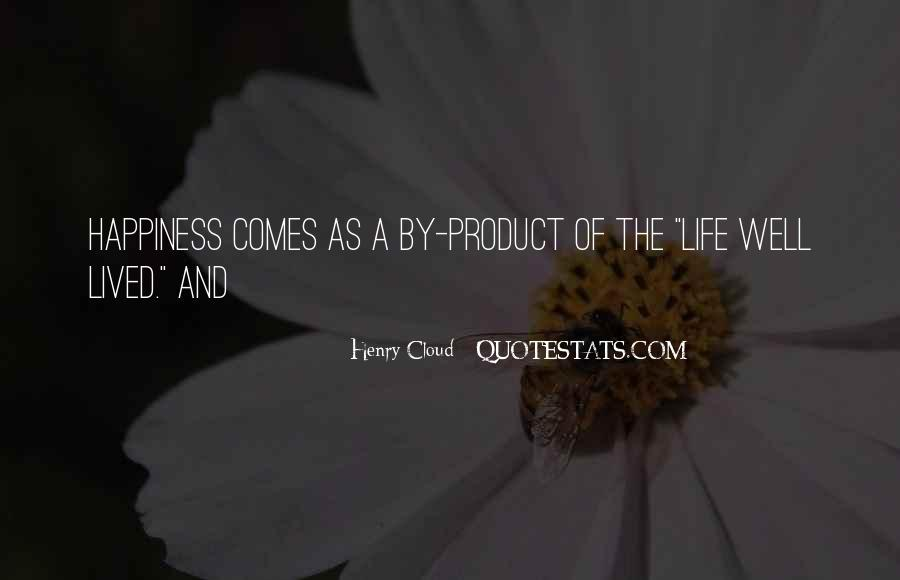 Quotes About Life Of Happiness #3005