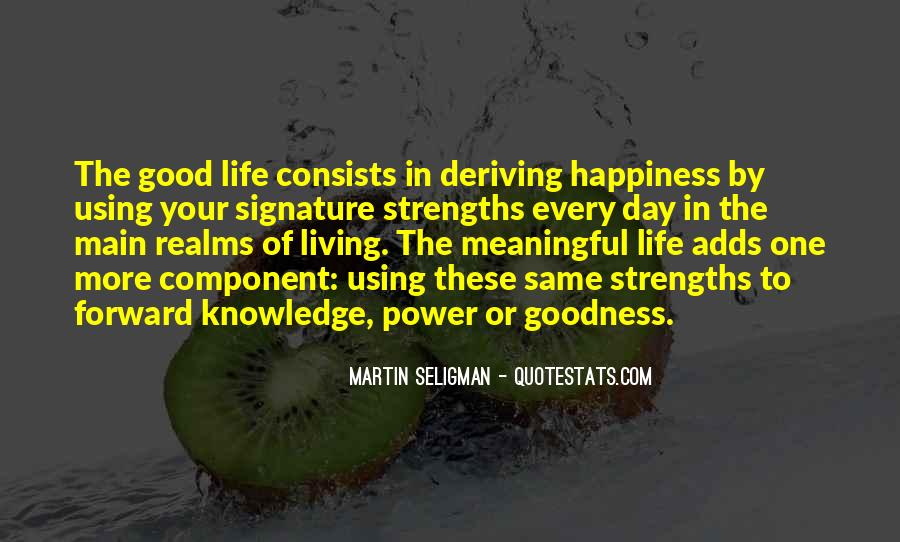 Quotes About Life Of Happiness #49202