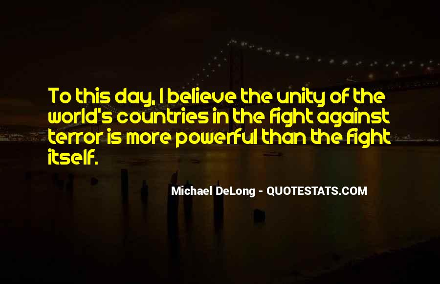 Quotes About World Unity #1101138