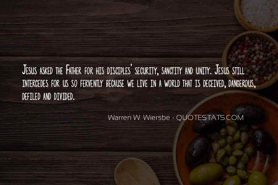 Quotes About World Unity #1144057