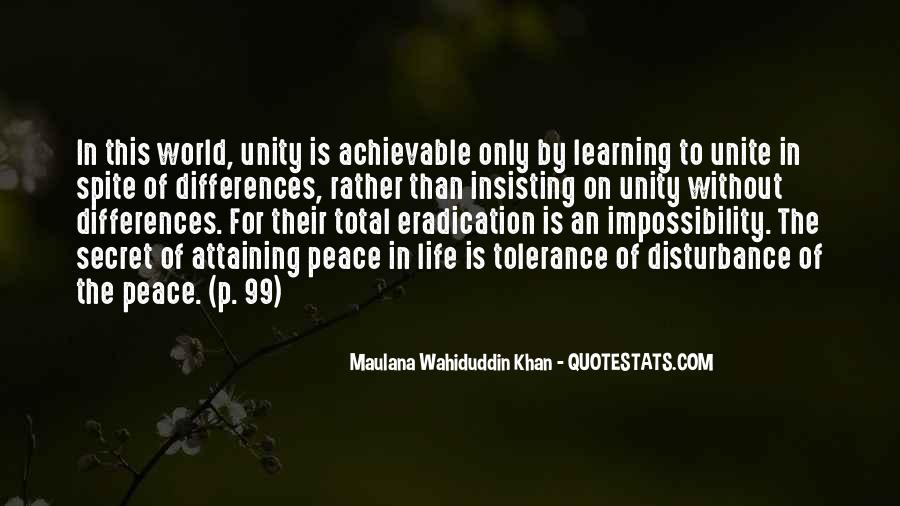 Quotes About World Unity #1202817