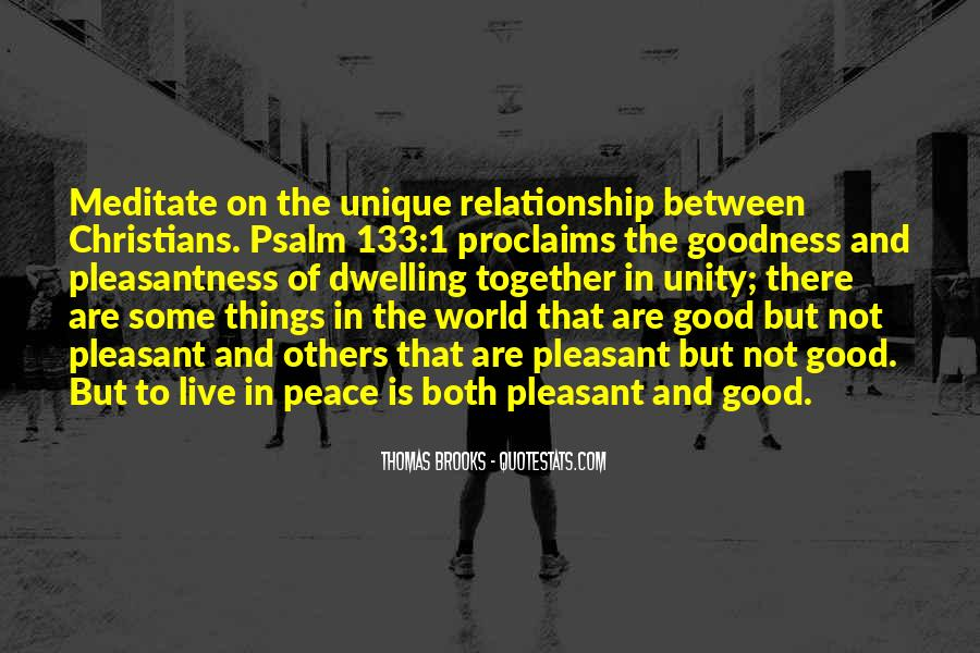 Quotes About World Unity #261162