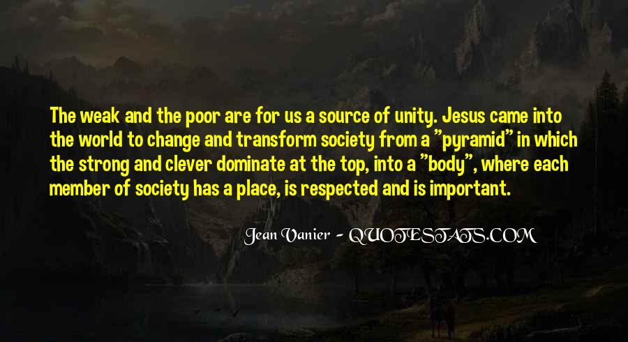 Quotes About World Unity #325250