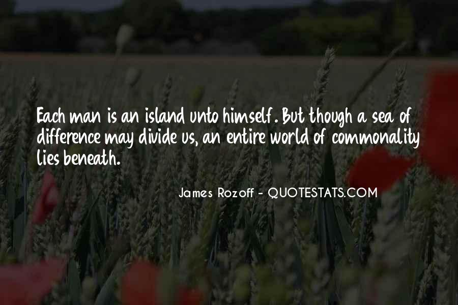 Quotes About World Unity #481227