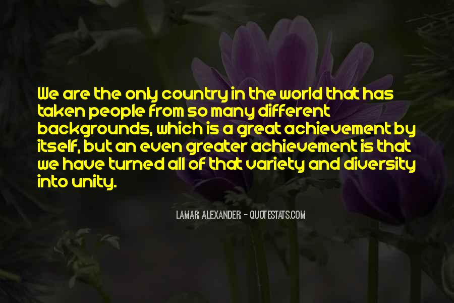 Quotes About World Unity #511738
