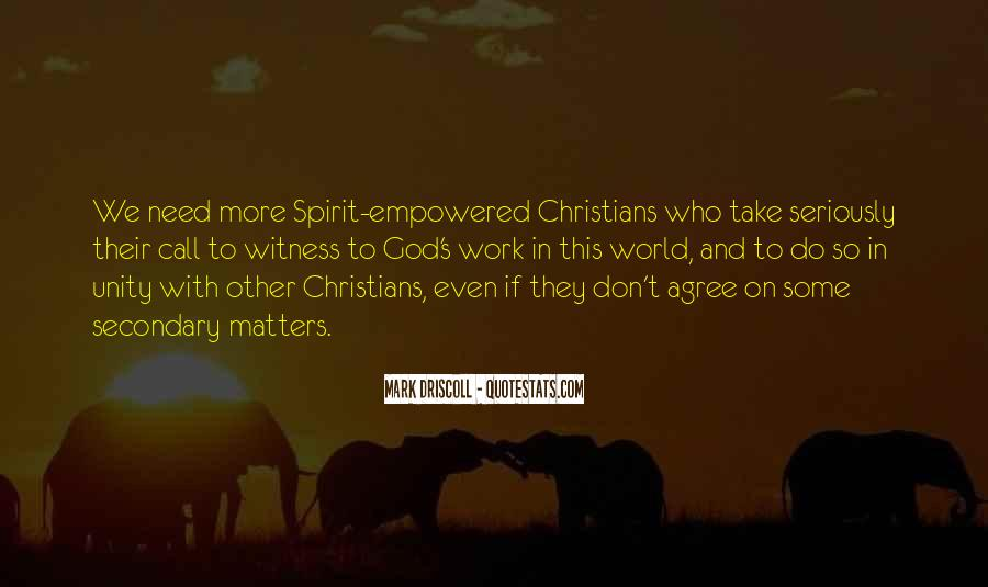 Quotes About World Unity #521512