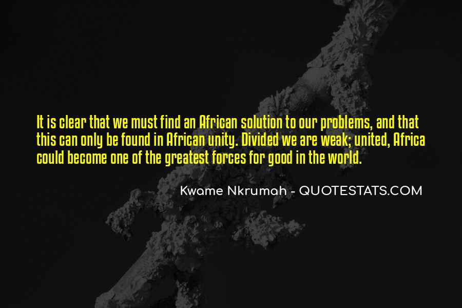 Quotes About World Unity #522716