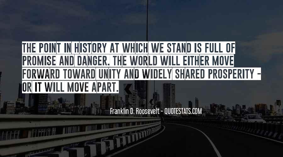 Quotes About World Unity #561823