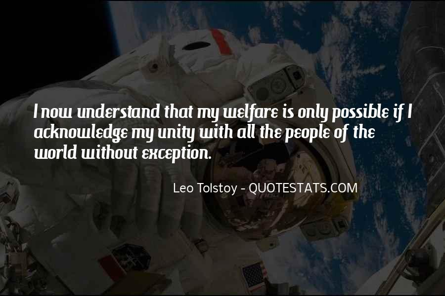 Quotes About World Unity #643473