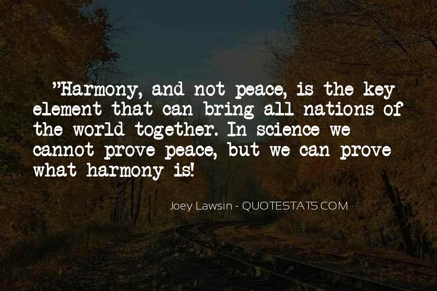 Quotes About World Unity #688569