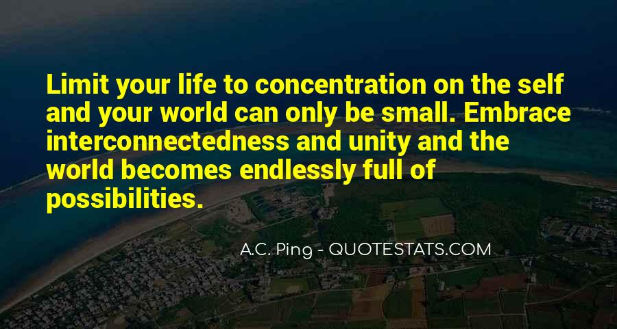 Quotes About World Unity #750582