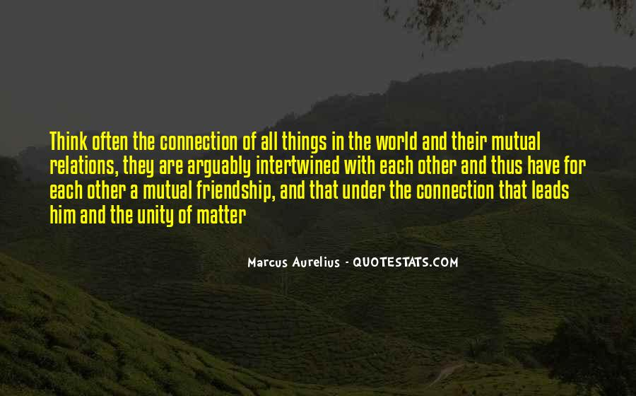 Quotes About World Unity #849770