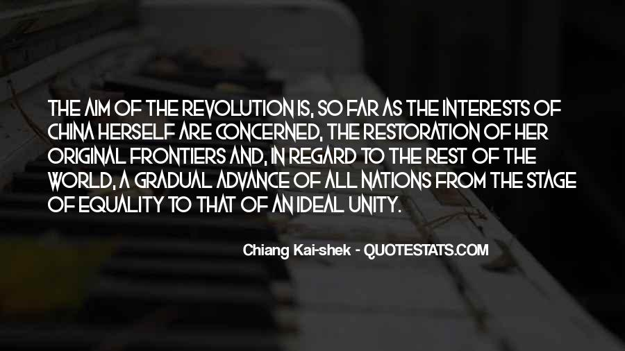 Quotes About World Unity #851793