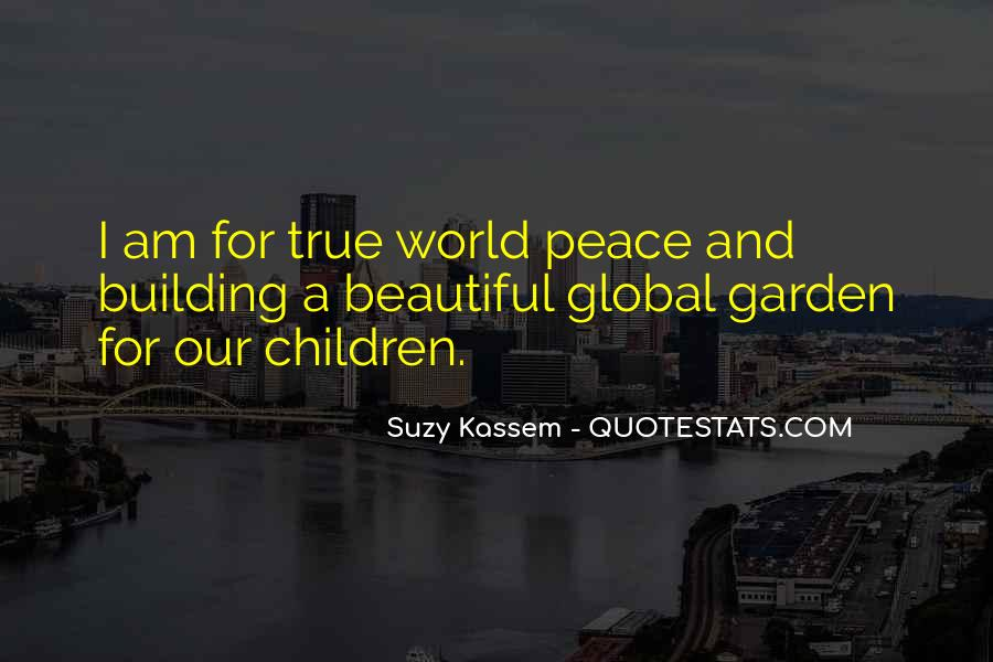 Quotes About World Unity #929442
