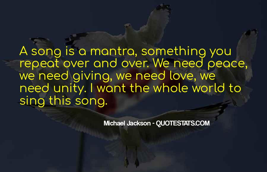 Quotes About World Unity #988880