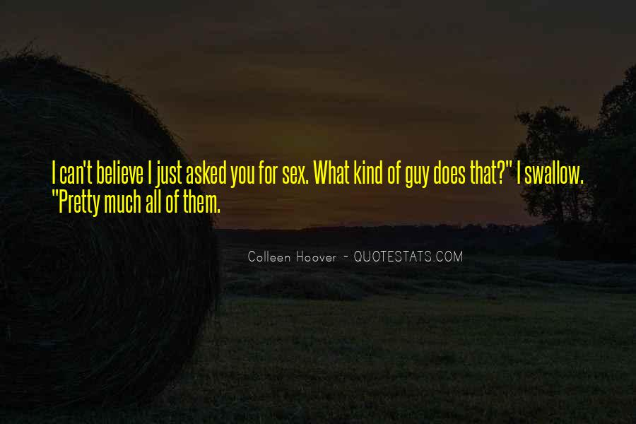 Quotes About Not Knowing What You're Missing #1596010