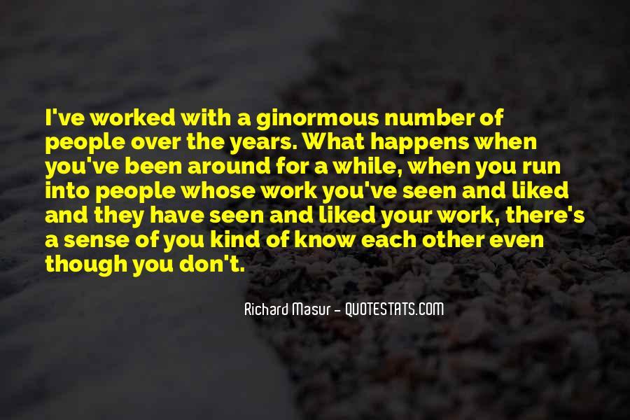 Quotes About Number Of Years #218874