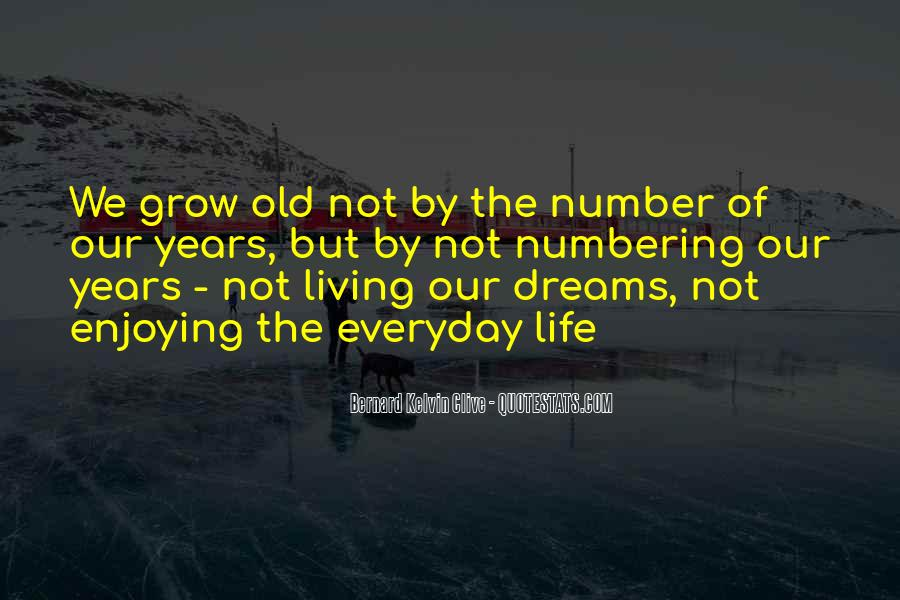 Quotes About Number Of Years #221830