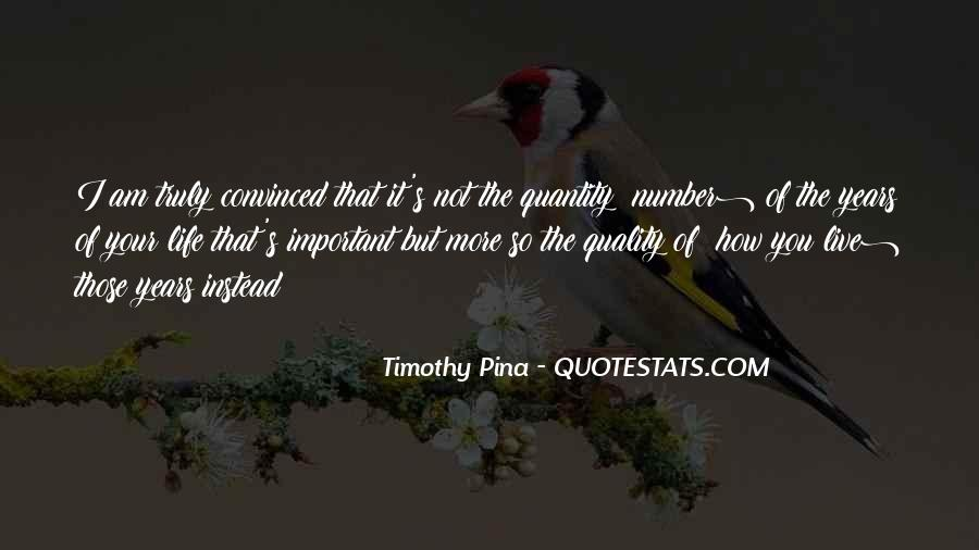 Quotes About Number Of Years #645131